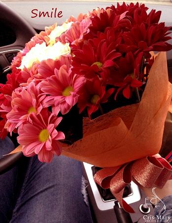 Flori, fete si baieti