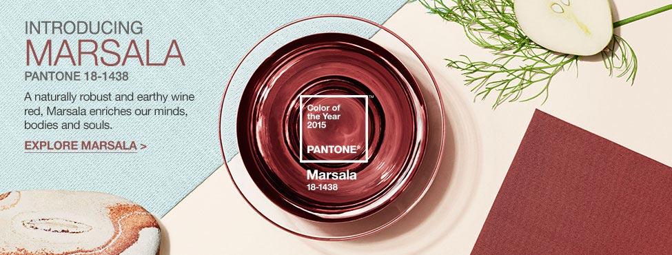 Culoarea anului 2015 Marsala