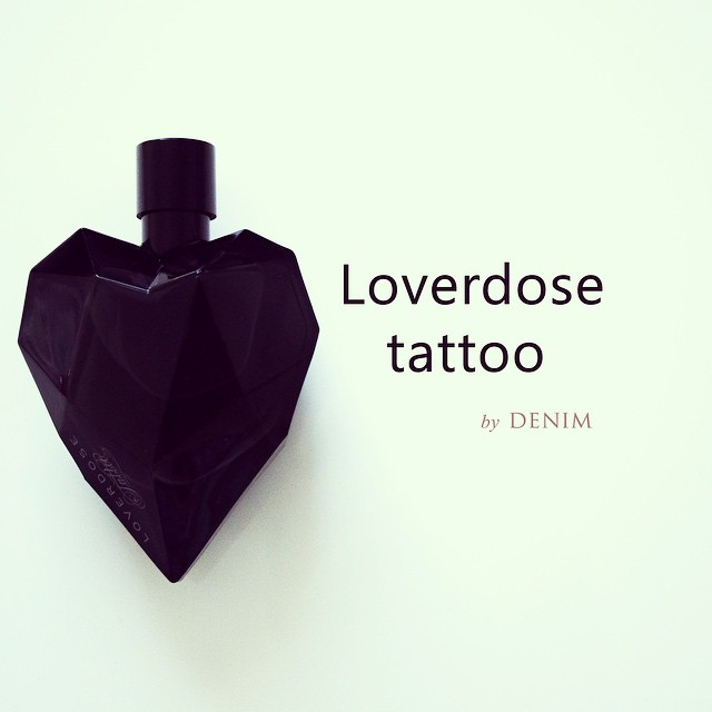 My winter flavor: LOVERDOSE Tattoo by Denim! I love this perfume! Photo by me;) #lifemoments #lifeinpictures #perfume #eaudeparfum #hearth #shape #iphoneonly #vscocam #photography